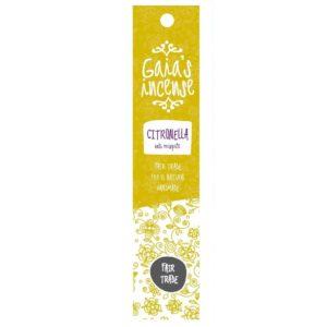 Wierook Gaia's Incense fairtrade - Citronella