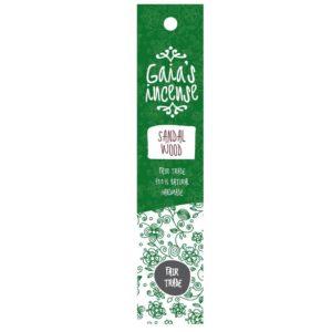 Wierook Gaia's Incense fairtrade - Sandalwood
