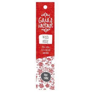 Wierook Gaia's Incense fairtrade - Wilde roos
