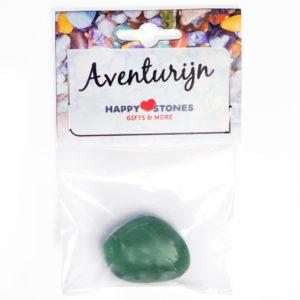 Happy Stones - Knuffel edelsteen - Aventurijn