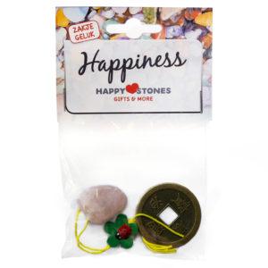 Happy Stones - zakje geluk - Happiness