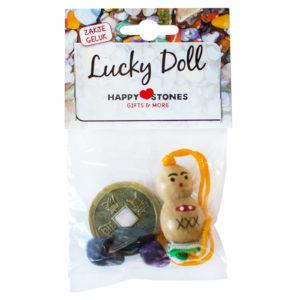 Happy Stones - zakje geluk - Gelukspoppetje