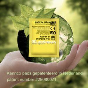 Kenrico detox-pleister voeten pads - TMRX 3 - pakket 20 stuks