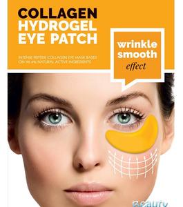BeautyFace Collageen - oog masker 24k Goud & Hyaluronic Acid- rimpelverzachtend & vochtherstellend 35+