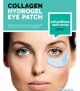 BeautyFace Collageen - oog masker anti-puffiness & dark cirles -donkere kringen en zwellingen