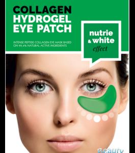 BeautyFace Collageen - oog masker komkommer & vitaminen - verzachtend en pigmentatie verminderend