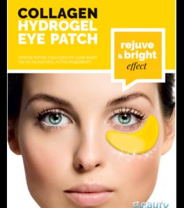 BeautyFace Collageen - oog masker diamant & goud - verjongend 25+