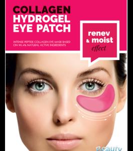 BeautyFace Collageen - oog masker rode wijn - regenererend en hydraterend