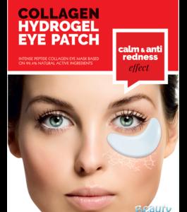 BeautyFace Collageen - oog masker pure collageen en Vit C- anti redness & rosacea 25+