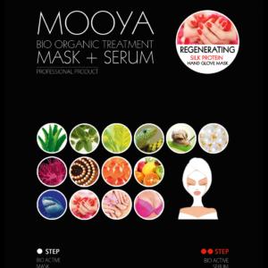 Mooya Bio-organic Home Spa - handmaskers zijdeproteïnen