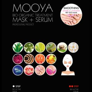 Mooya Bio-organic Home Spa - Voetenmaskers exfoliërend en superverzachtend