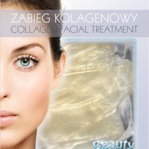 BeautyFace Collageen masker - diamant & goud- opbouwend en verhelderend 30+