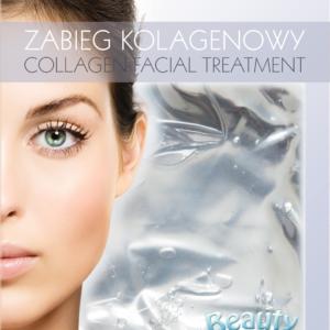 BeautyFace Collageen masker - natuurlijk parel extract- verzachtend 25+