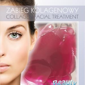 BeautyFace Collageen masker - rode wijn - regenererend en vochtherstellend All Age