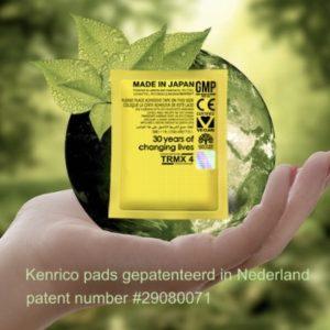 Kenrico detoxpleister voetenpads - proefpakket 8 stuks € 15