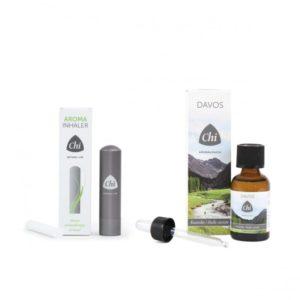 CHI Aroma inhaler + Davos kuur olie