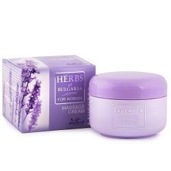 Herbs of Bulgaria - Lavendel Massage crème