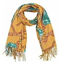 Grote sjaal - warme sjaal - warme kleuren