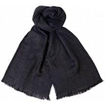 Grote sjaal - zwart - lekker warm 180 x 70