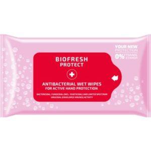 Biofresh Protect - antibacteriële tissues zilver en rozenwater 15 st
