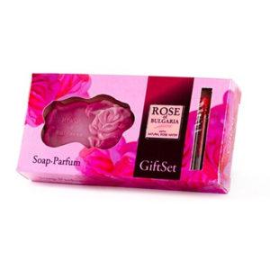 Giftset Rose of Bulgaria - EdP 2.1 ml. & glycerine zeep Rose 30 gr.